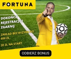 Fortuna.pl - legalny bukmacher