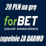 forbet-20zl-bez-depozytu